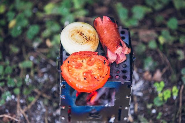 Outdoor Kitchen  Frühstück aus der Bushbox 08
