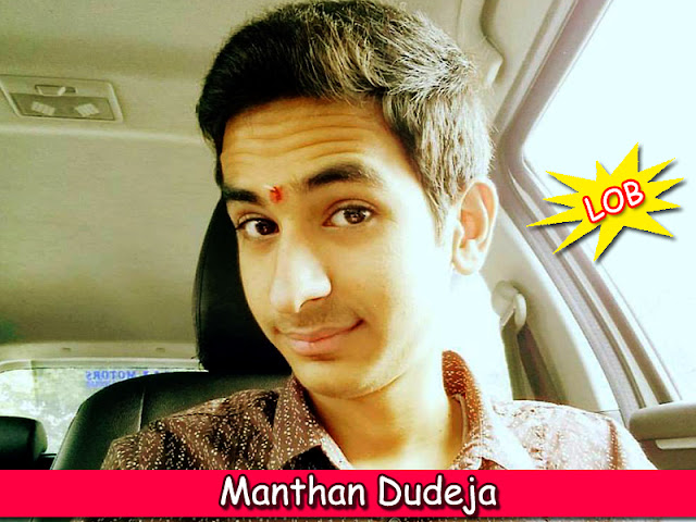 Manthan Dudeja from TechCrack