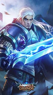 Tigreal Dark Knight Heroes Tank of Skins V1