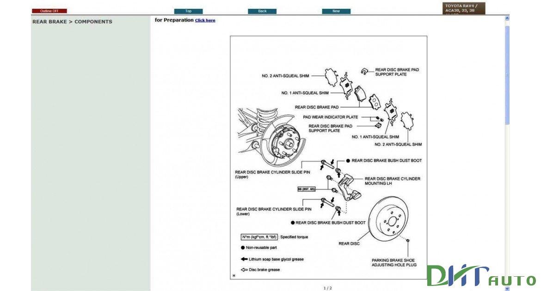 Toyota 2005 RAV4 Troubleshooting Manual