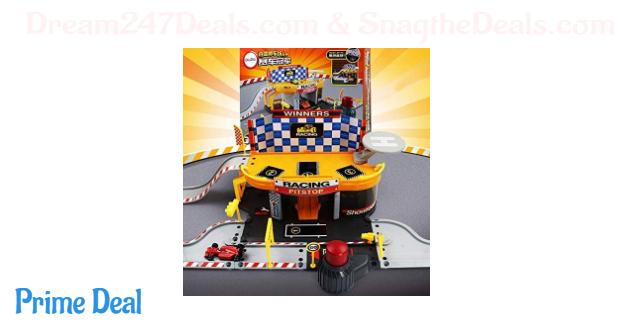 50%off Car Racing Parking Garage Station Set Toys 8 in 1