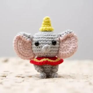 Amigurumi Dumbo a Crochet