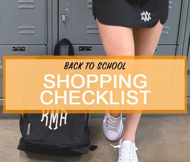 monograms for back to school