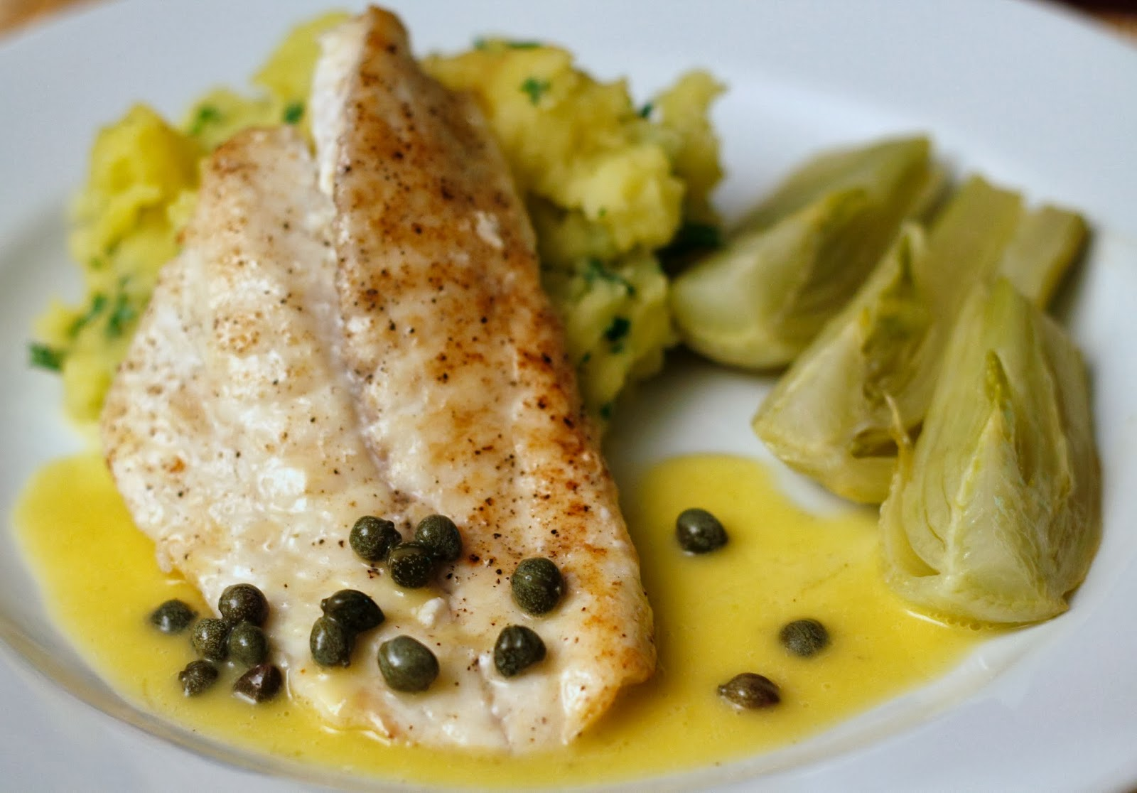 beurre blanc med persille
