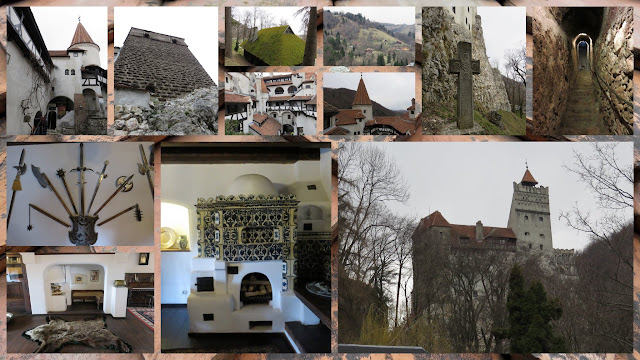 Bran Castle, Inspiration for Dracula in Transylvania, Romania