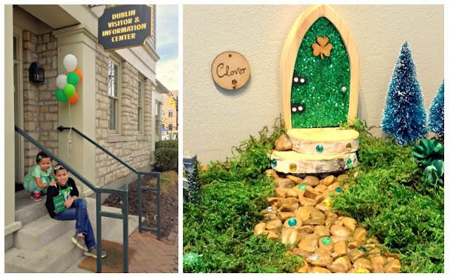 Our Irish Fairy Door Hunt Through Historic Dublin Ohio DVC #irishisanattitude #SoDublin