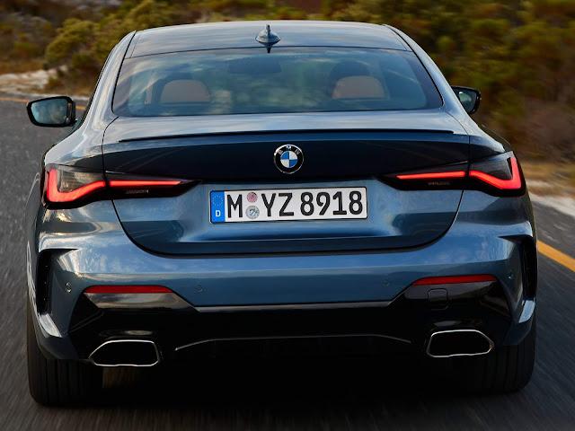 Novo BMW Série 4 Coupé 2021