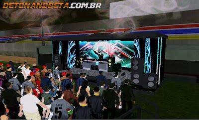 GTA SA - Mod Show do Skrillex