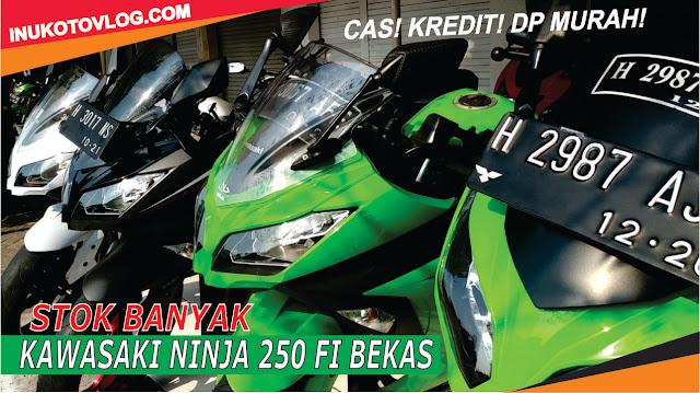 Harga Motor Kawasaki Ninja 250 Fi Bekas by inukotovlog.com
