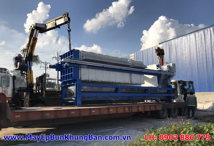 Bán máy ép bùn khung bản Việt Nam chuyên nghiệp, giá rẻ, vận chuyển tận công trình