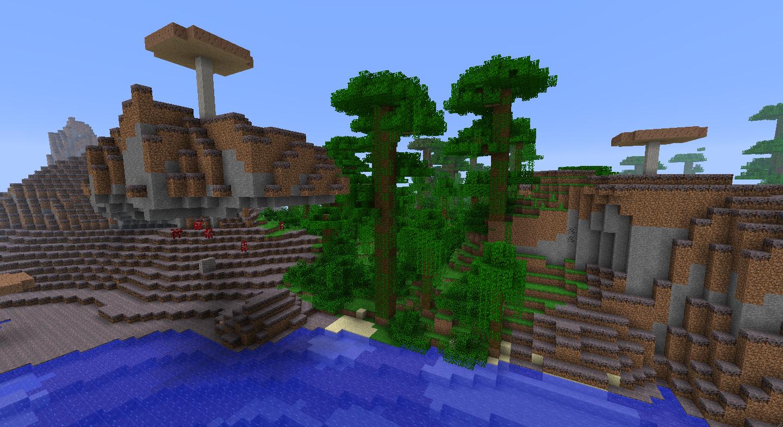 1 Minecraft Mushroom Seed 6 4 Biome