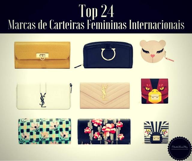 Top 24 Melhores Marcas de Carteiras Femininas Internacionais