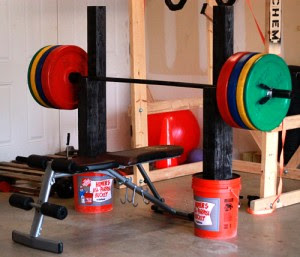Diy Bench Press And Squat Stand Diy Strength Training Gear Diy