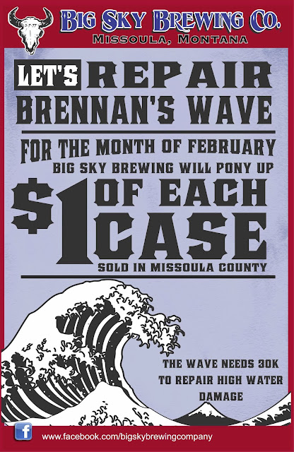 Big Sky Brewing Brennan's Wave