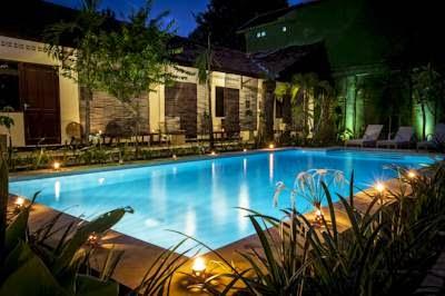 kolam renang penginapan murah Pondok Ijo jogja-1