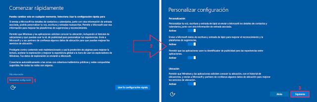 Windows 10: Comenzar rápidamente.