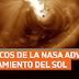 Científicos de la NASA advierten debilitamiento del sol.