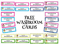 Free Washroom Cards