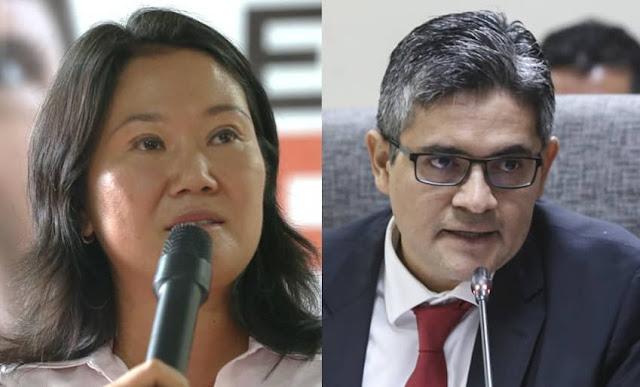 Fiscal José Domingo Pérez presentó acusación contra Keiko Fujimori