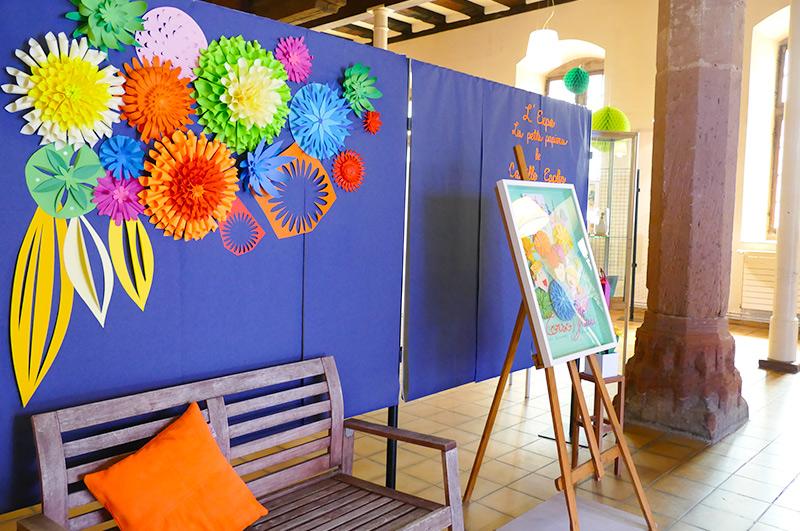 Agencement exposition Corso Fleuri