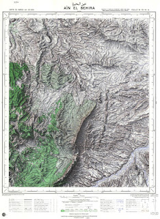 Ain Labhira Morocco 50000 (50k) Topographic map free download