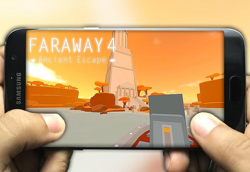اللعبة 4: faraway 4 ancient escape