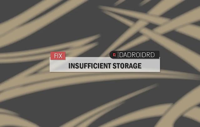 Atasi Play Store Error Insufficient Storage