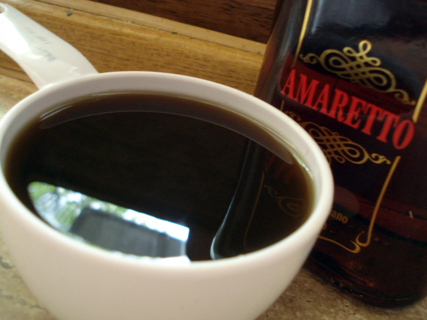 coffee and liqueur mixture