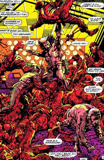 Wolverine en Arma X