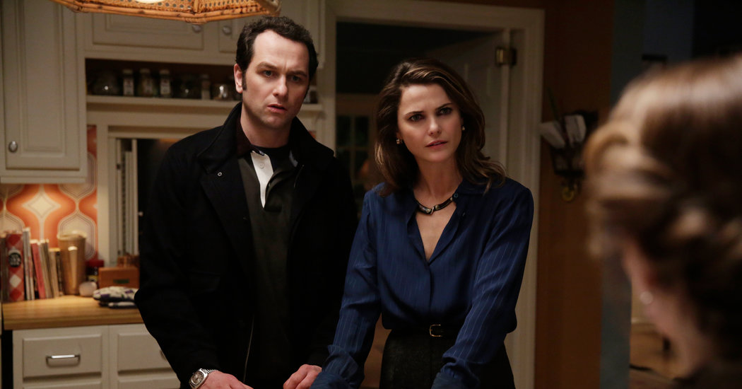 Elizabeth y Philip en The Americans