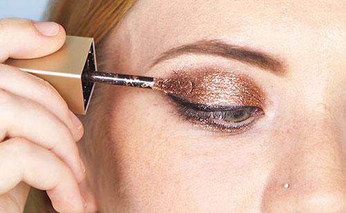 Cómo aplicar sombras de ojos liquidas