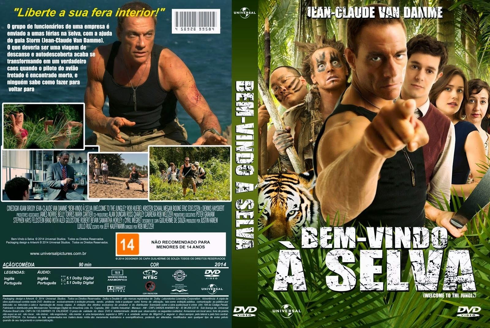 Filme - Bem-Vindo À Selva DVD Capa