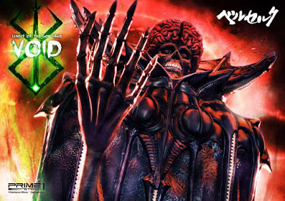 "Figuras: Escalofriante figura de Void - Leader of the God Hand de ""Berserk"" - Prime 1 Studio"
