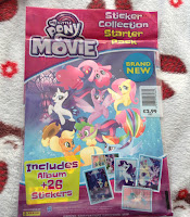 MLP The Movie Panini Stickers