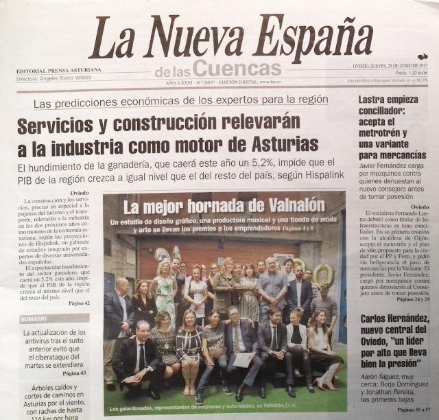 XVI Edición de los Premios Proyectos Valnalón (Artículos en papel)