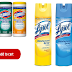 Lysol Disinfecting Spray and Clorox Disinfecting Wipes Available To Order!