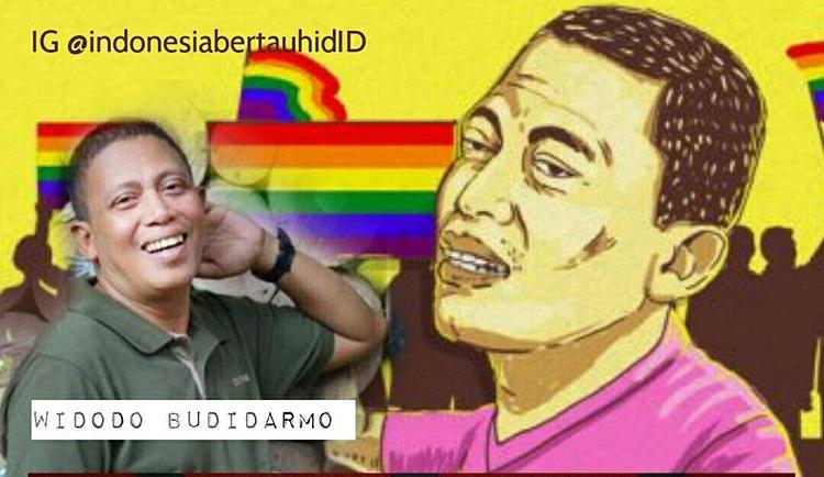 Aktivis Pelangi(LGBT) Widodo Budidarmo Meninggal Karena HIV/AIDS?