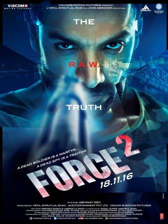 Force 2 (2016) Full Hindi Movie Download 720P