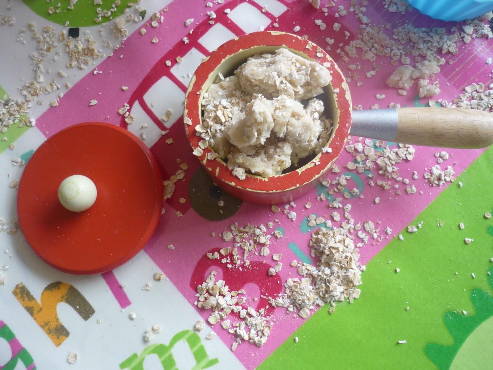 Porridge Oats Playdough