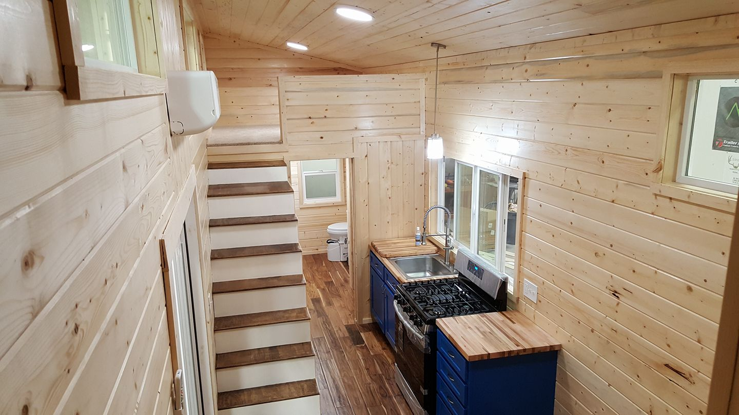 Tiny Home Designs: TINY HOUSE TOWN: Custom Home From Alpine Tiny Homes