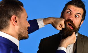 Study suggests men evolved bushy beards to soften the impact of punches