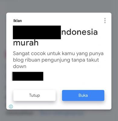 Cara Mengaktifkan Iklan Vinyet Google Adsense Terbaru