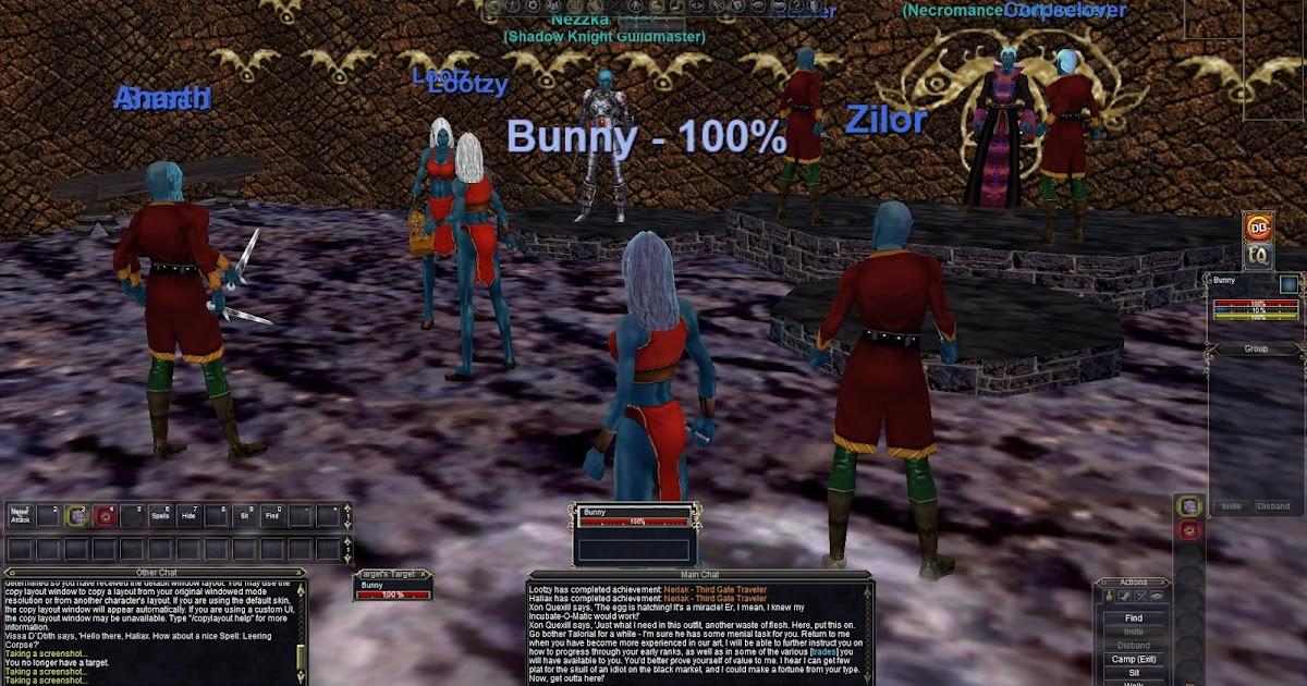ECTmmo com- MMO Blog: The Adventures of Kaozz   : Nostalgia