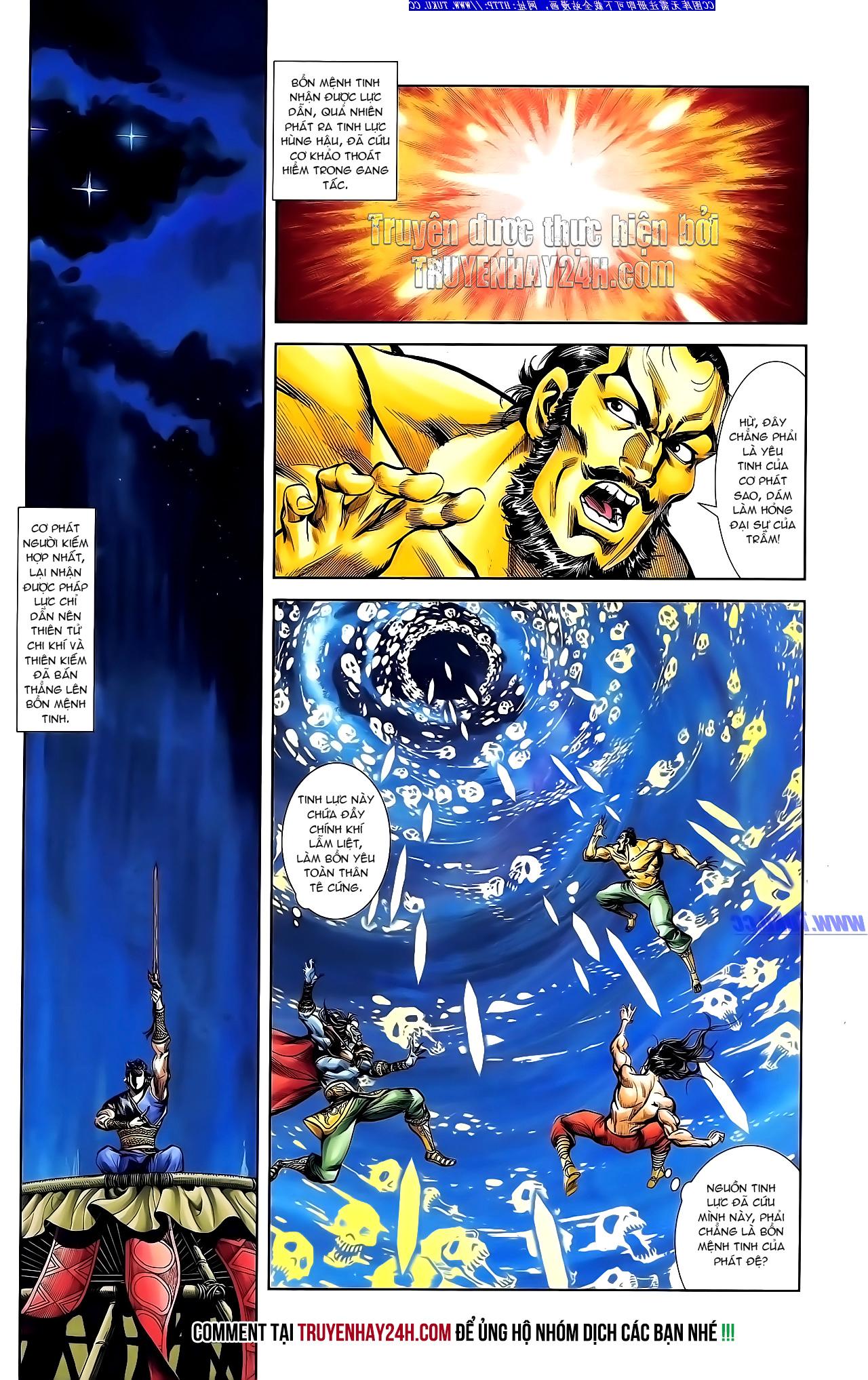 Cơ Phát Khai Chu Bản chapter 148 trang 24