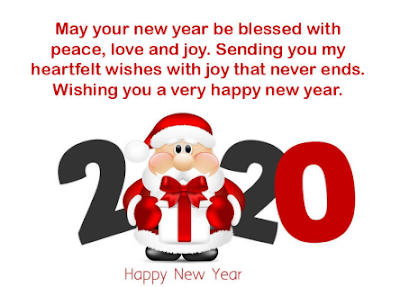Happy new year 2020 messages free images