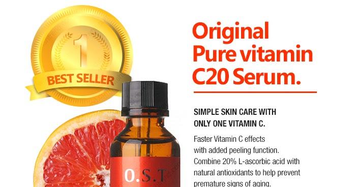 Ost Vitamin C Vs Purest Naturals Enhanced Vitamin C Serum