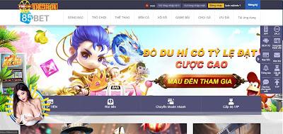 85bet - Trang web tỷ lệ cá cược bóng đá tốt nhất Việt Nam hiện nay