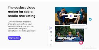 Lumen5 - Aplikasi Edit Video Gratis