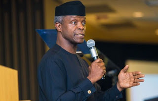 Special-Agro Industrial Processing Zones Set To Commence In 7 States in Nigeria- Vice President, Yemi Osinbajo has announced