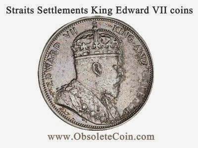 Straits Settlements King Edward Vii Coins Obsolete Coin
